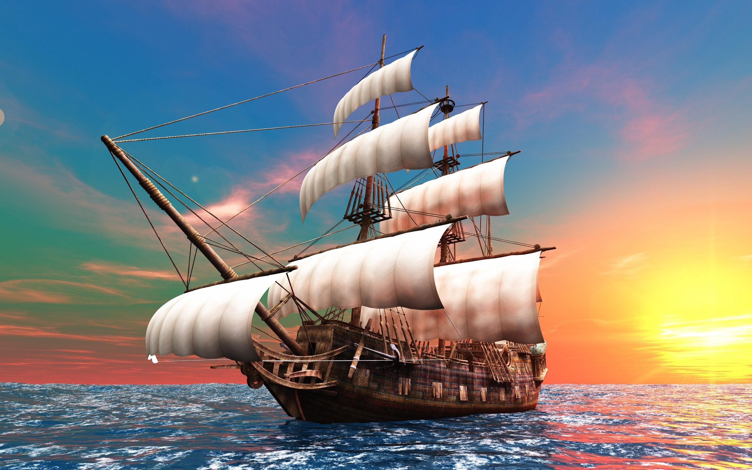 pirate ship computer wallpapers - photo #34