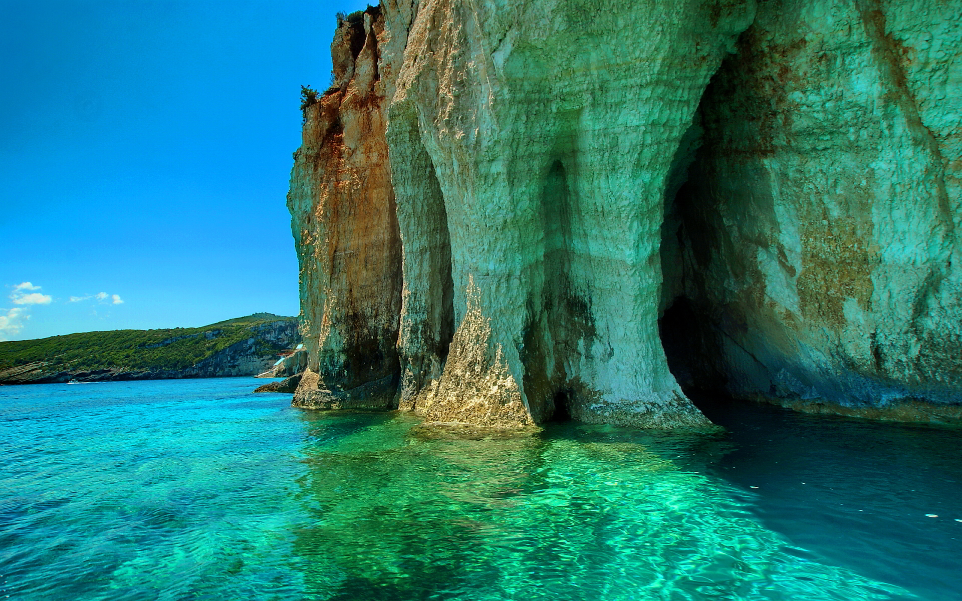 Greece wallpapers best wallpapers for Best wallpaper for walls