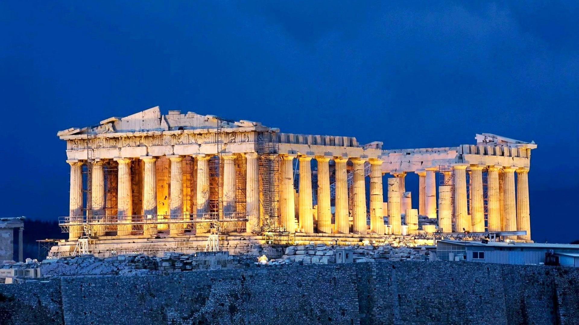 greek architecture desktop wallpapers