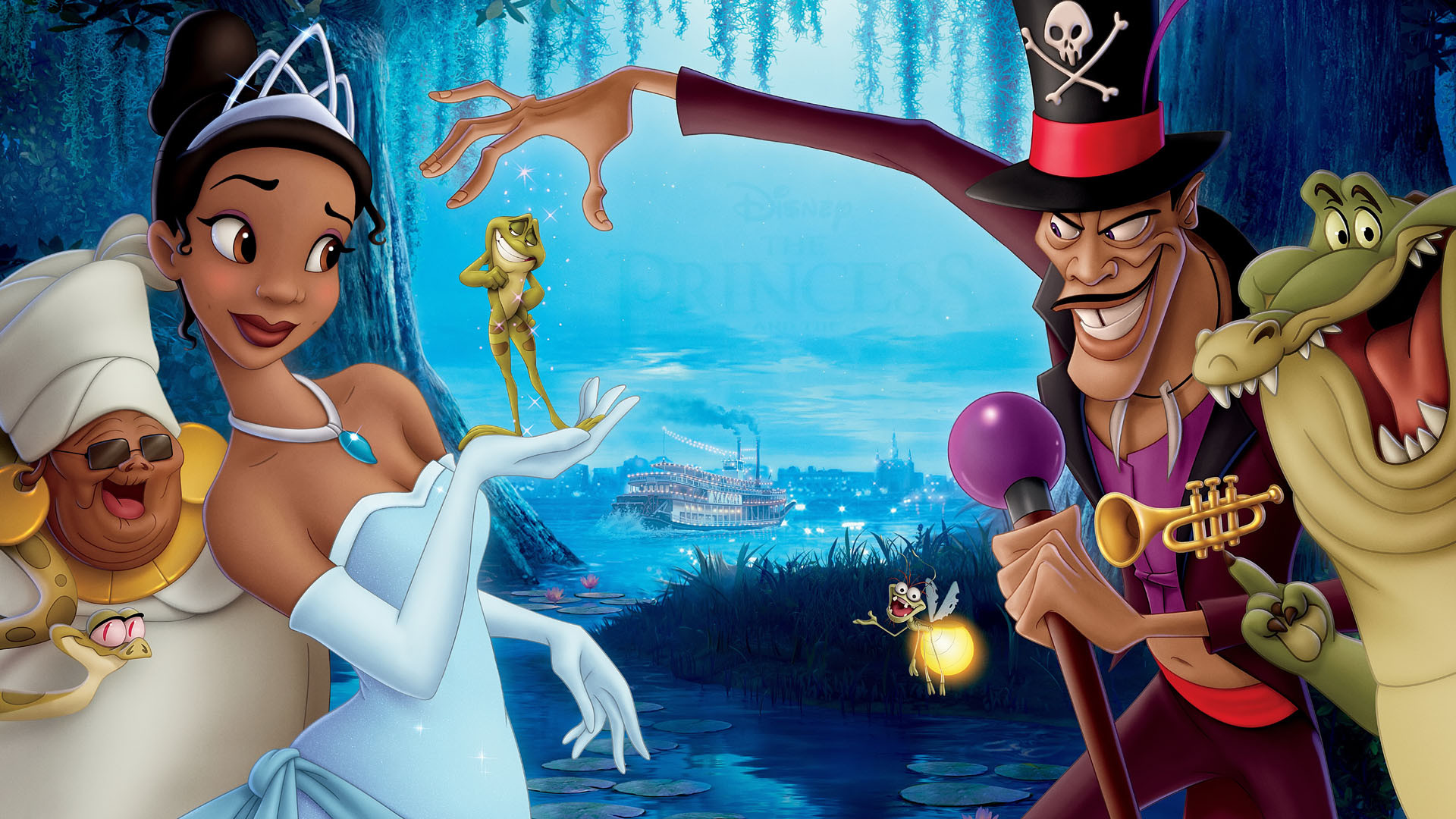 The Princess and the Frog Wallpapers  Best Wallpapers