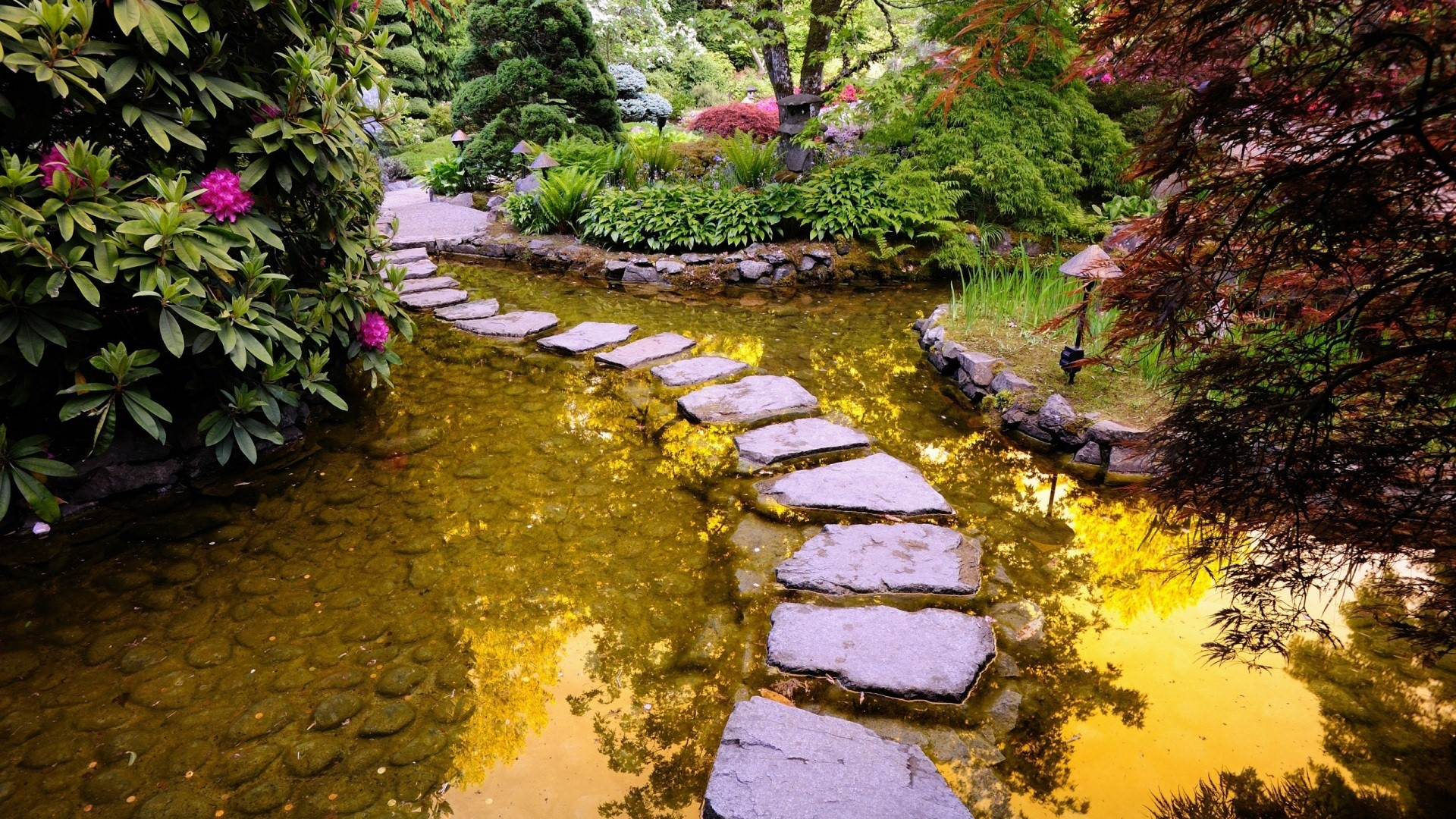 Garden wallpapers best wallpapers Pathway images