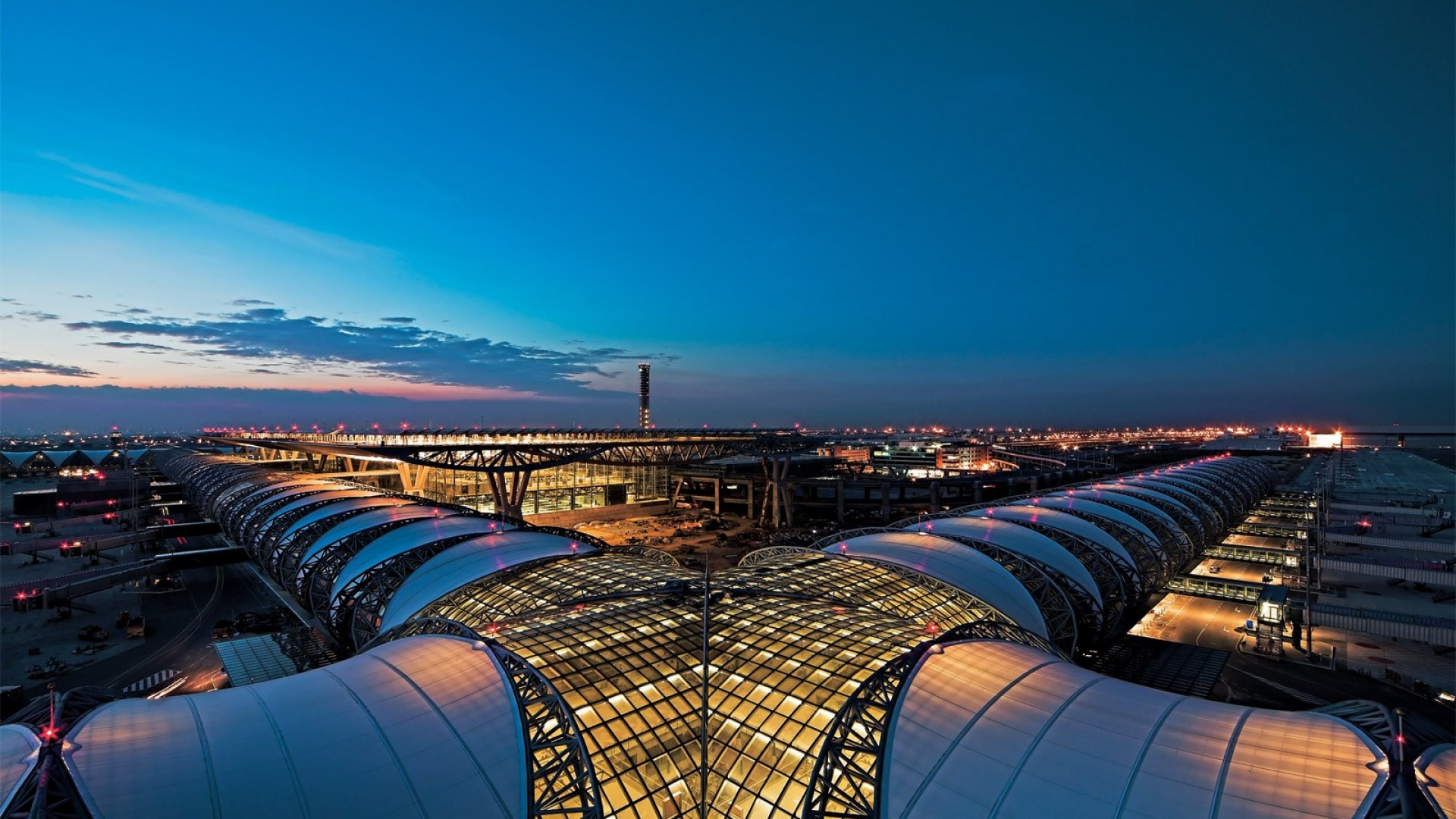 architecture background wallpapers airport suvarnabhumi bangkok thailand bkk architects airports