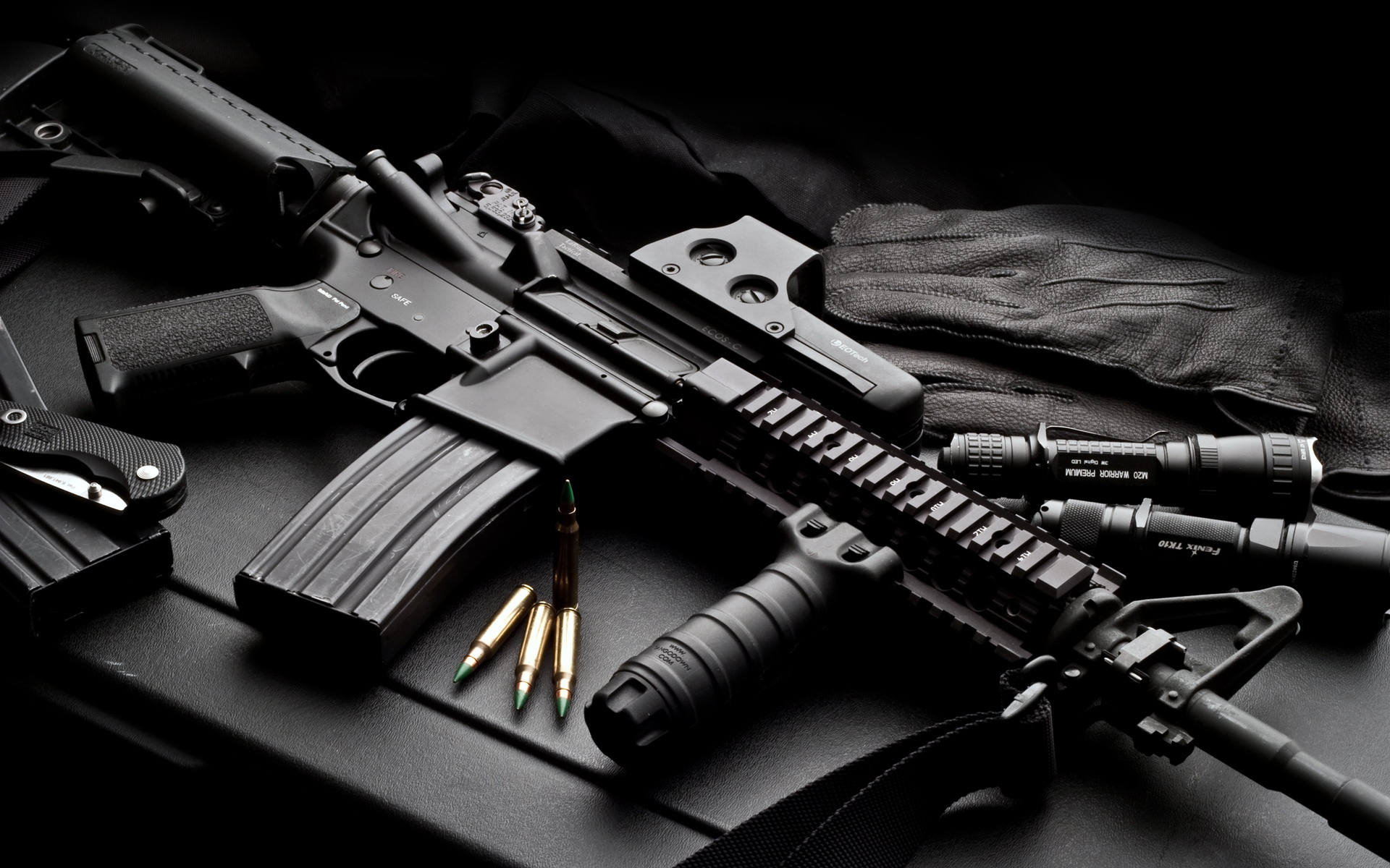 m16 gun wallpaper desktop - photo #38