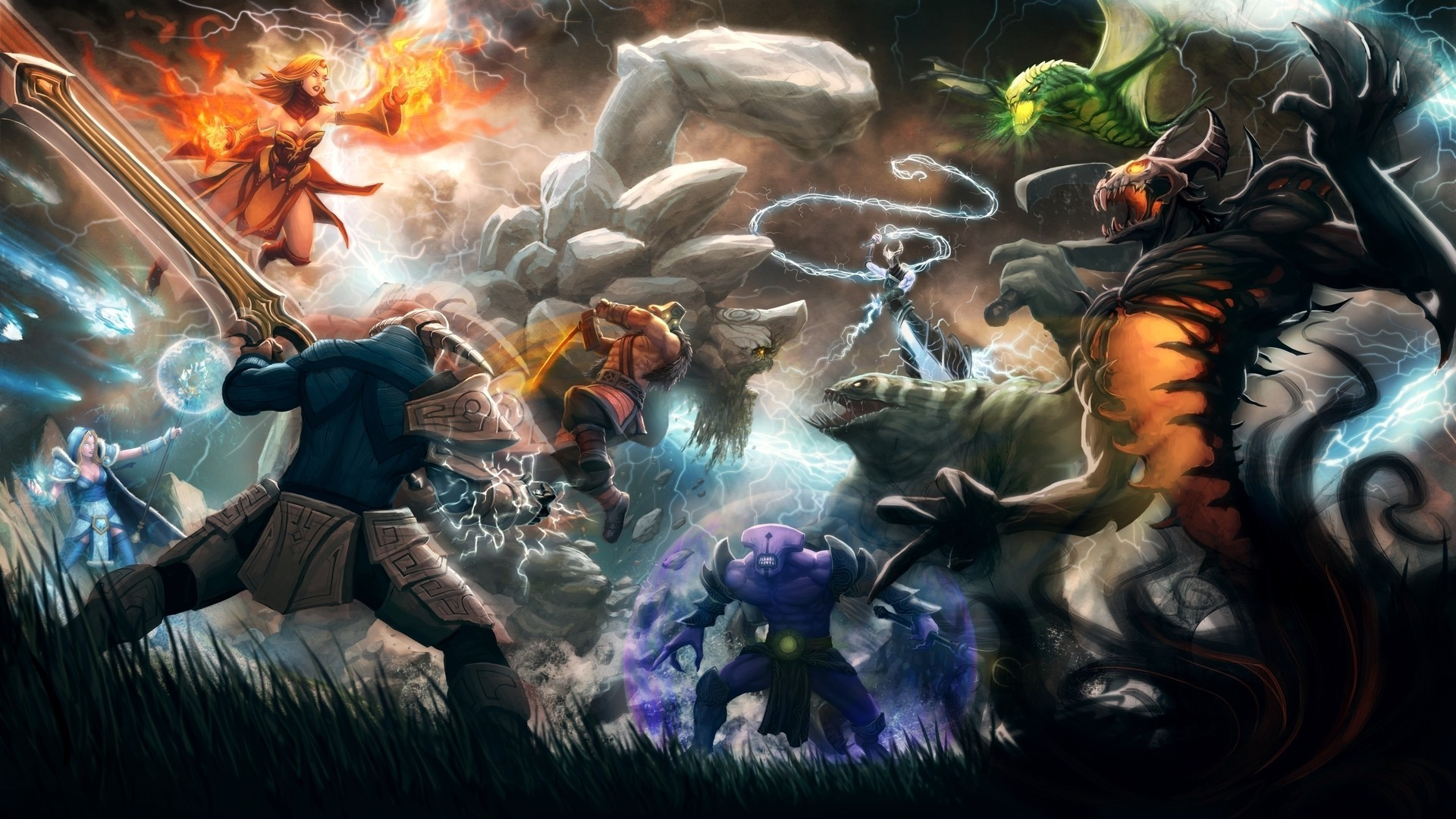 dota 2 game background - photo #21