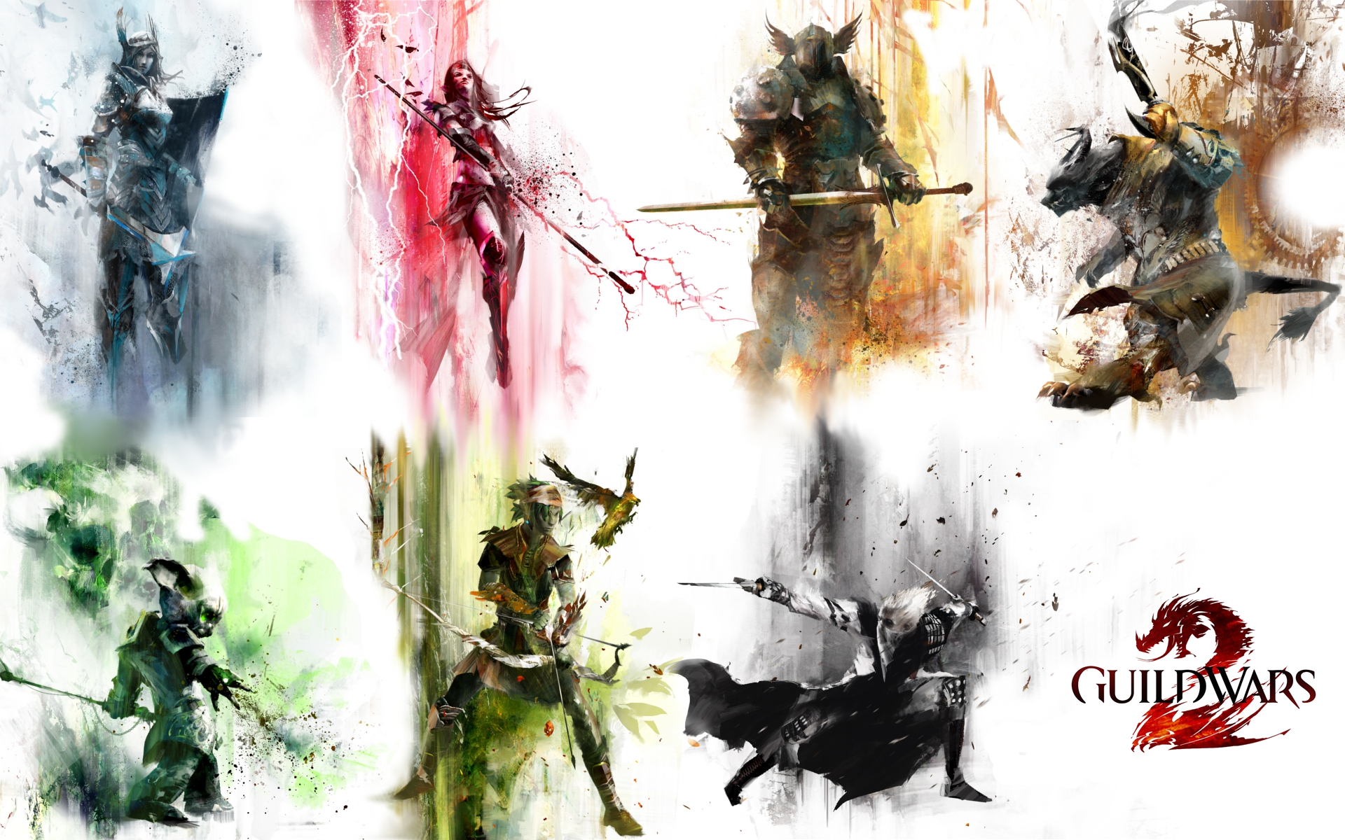 Awesome Guild Wars 2 Game Wallpaper