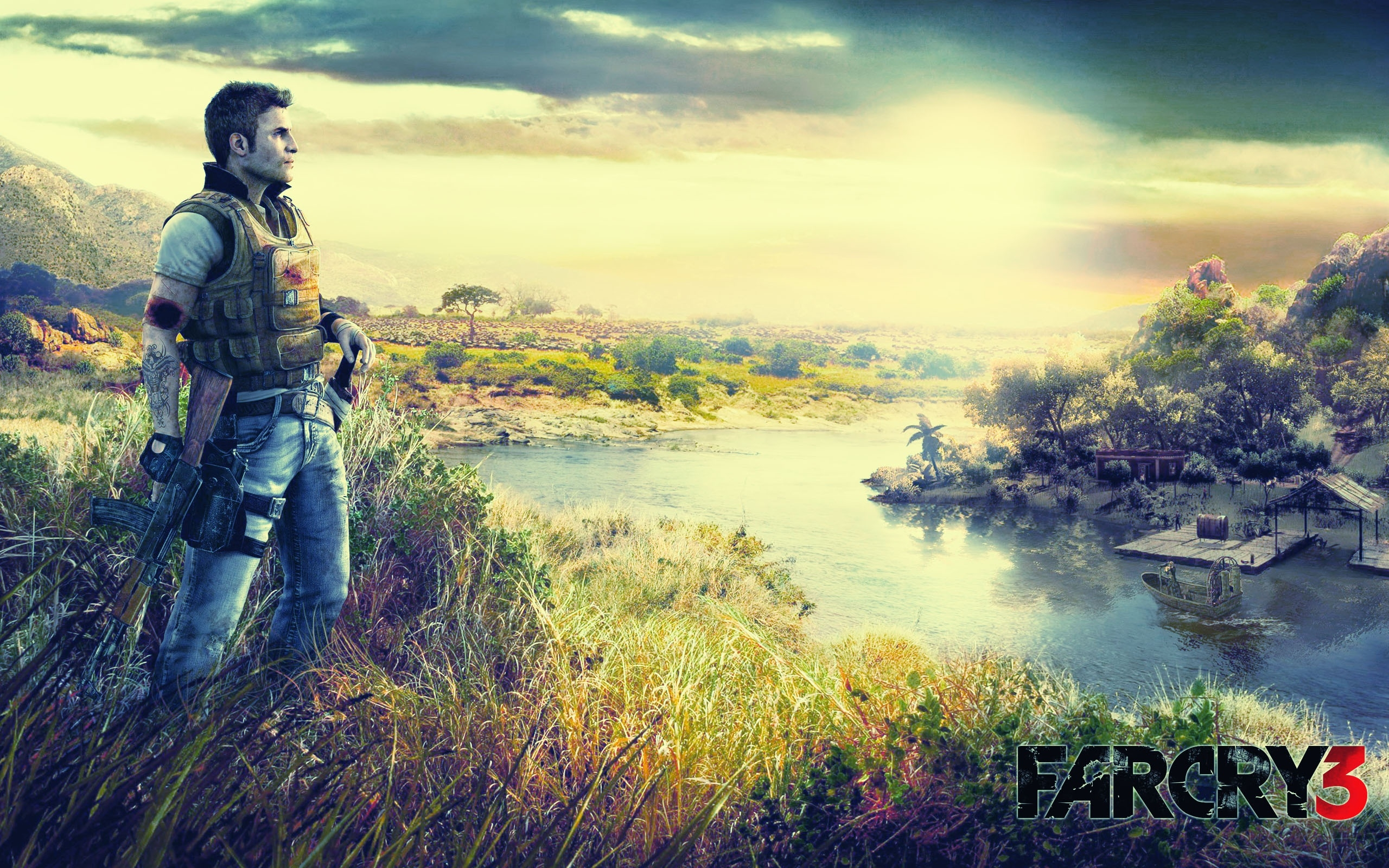 Far cry 3 wallpapers best wallpapers for Wallpaper three