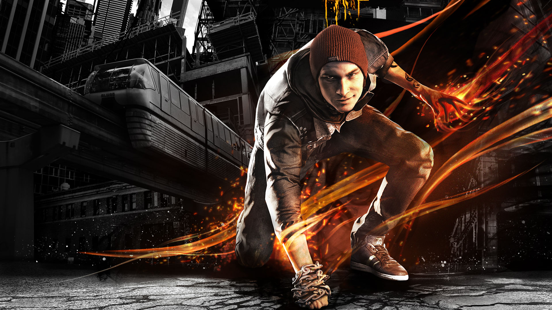 Infamous Wallpaper Hd Infamous Second Son Wa...