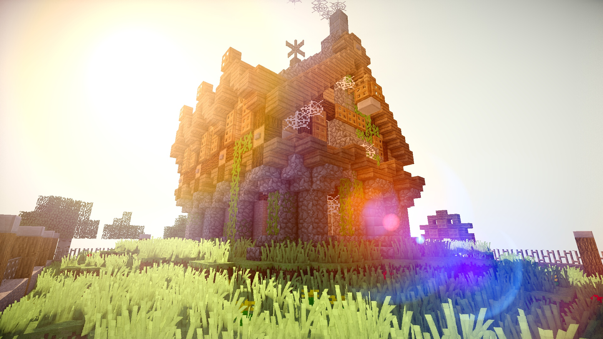 Beautiful Minecraft Game Wallpaper 1920x1080