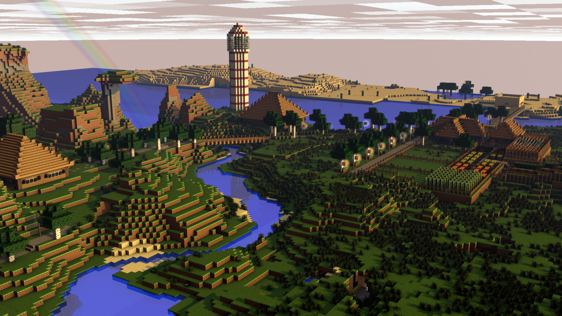 minecraft 1920x1200 wallpaper high - photo #15