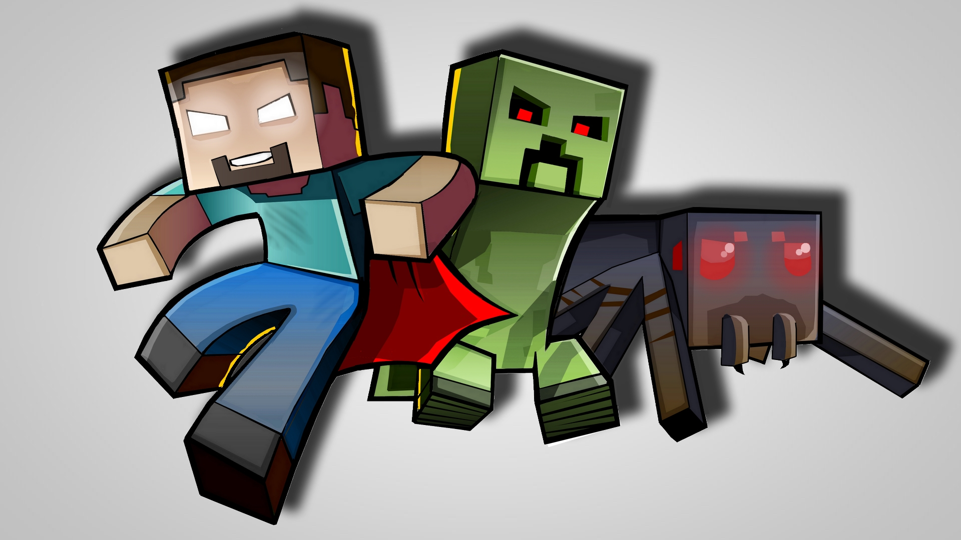 minecraft 1920x1200 wallpaper high - photo #5