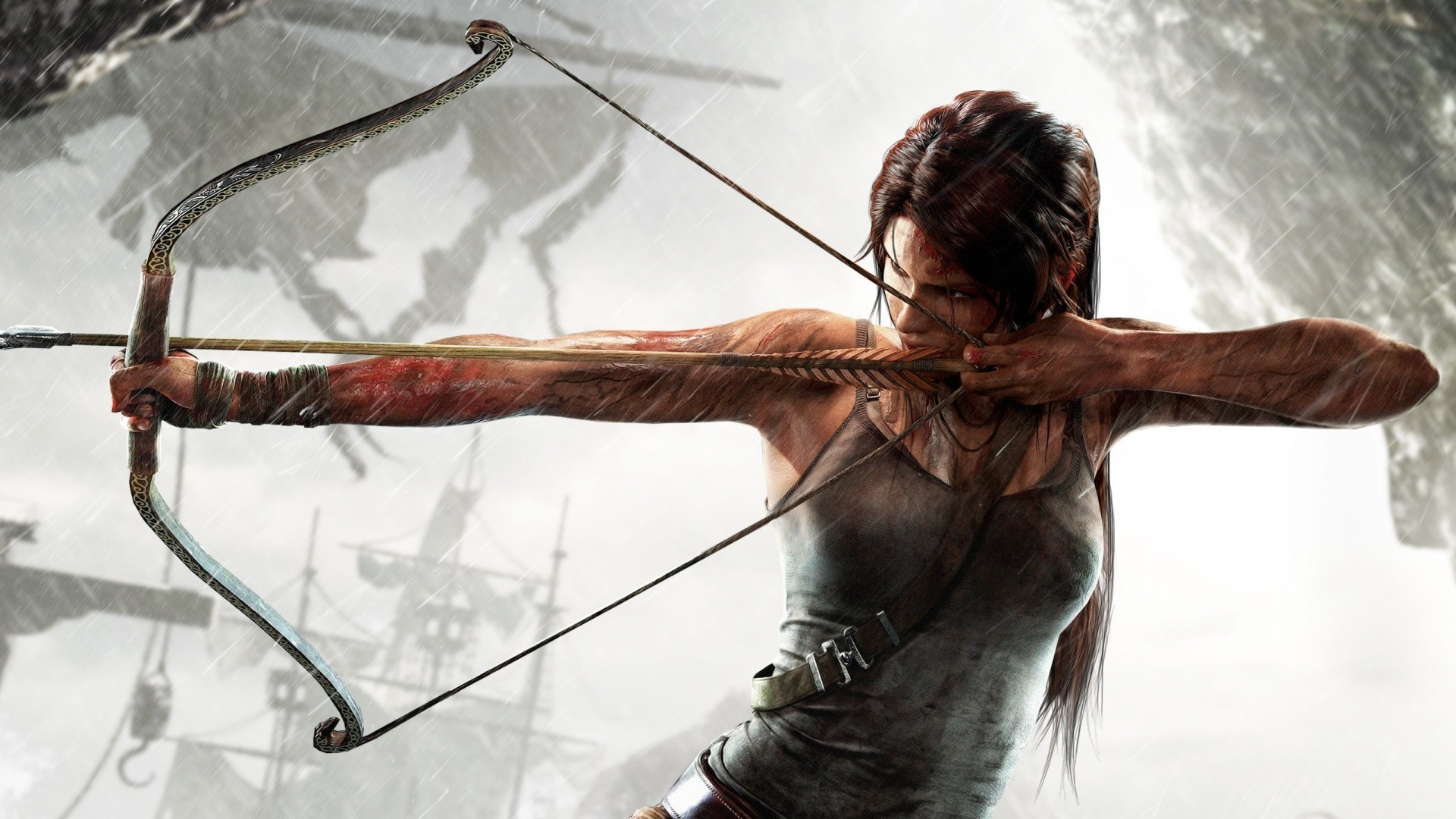 wallpaper girl bow lara - photo #13