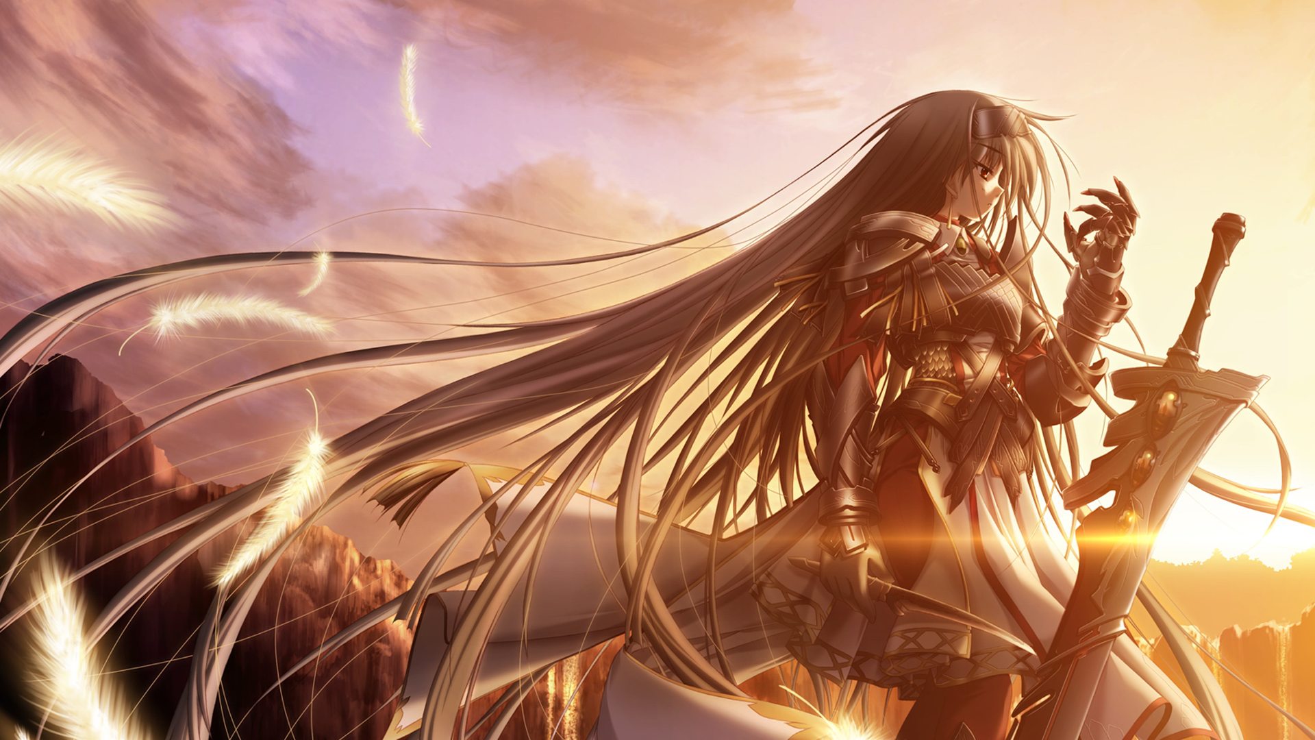Wallpaper Hd Anime Girl Dark