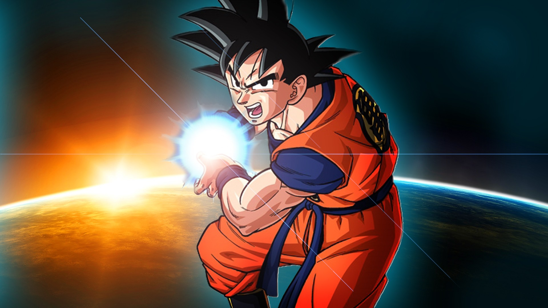 Dragon Ball Z HD Desktop Wallpaper
