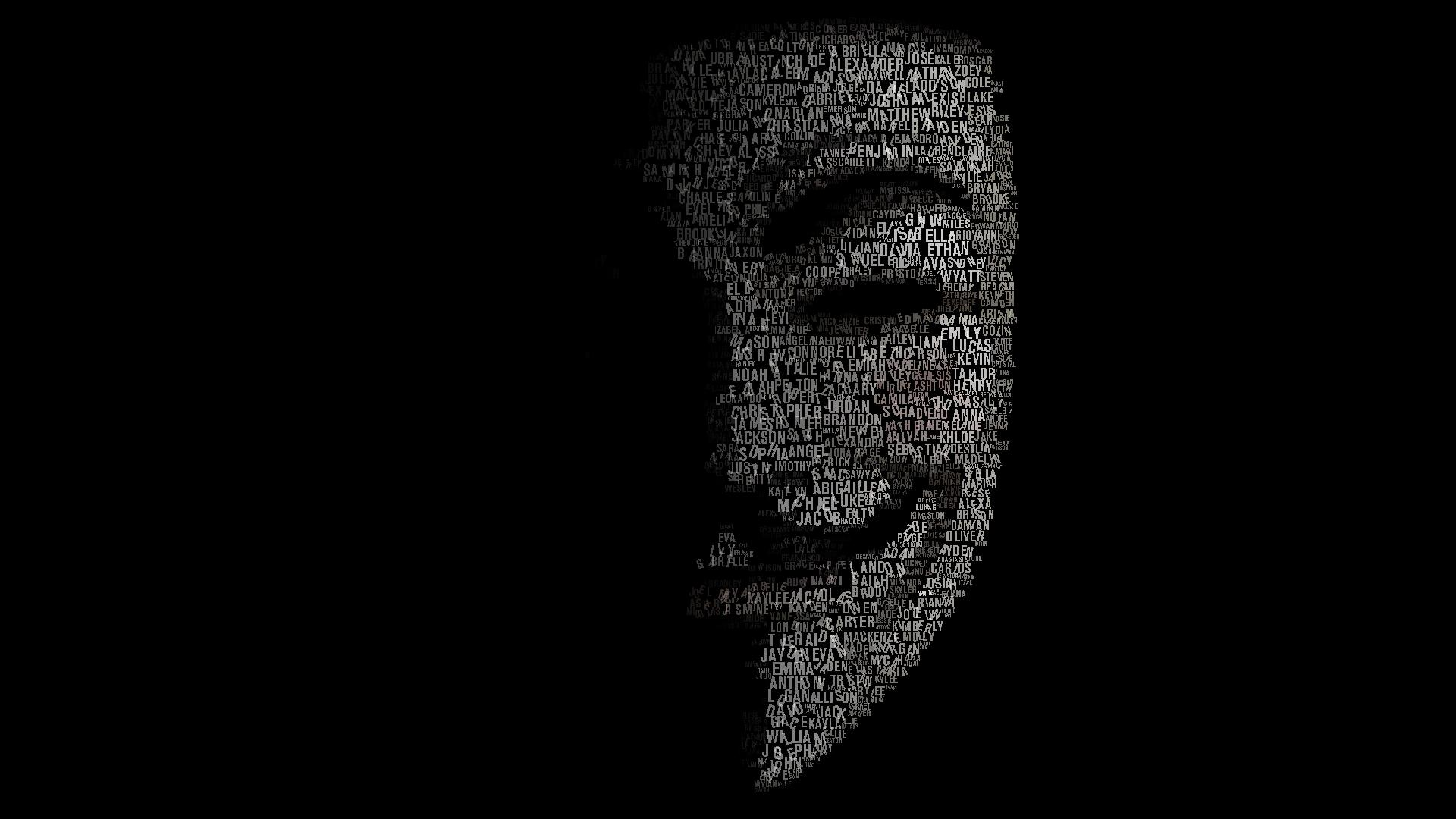 HD Anonymous Wallpaper 1920x1080