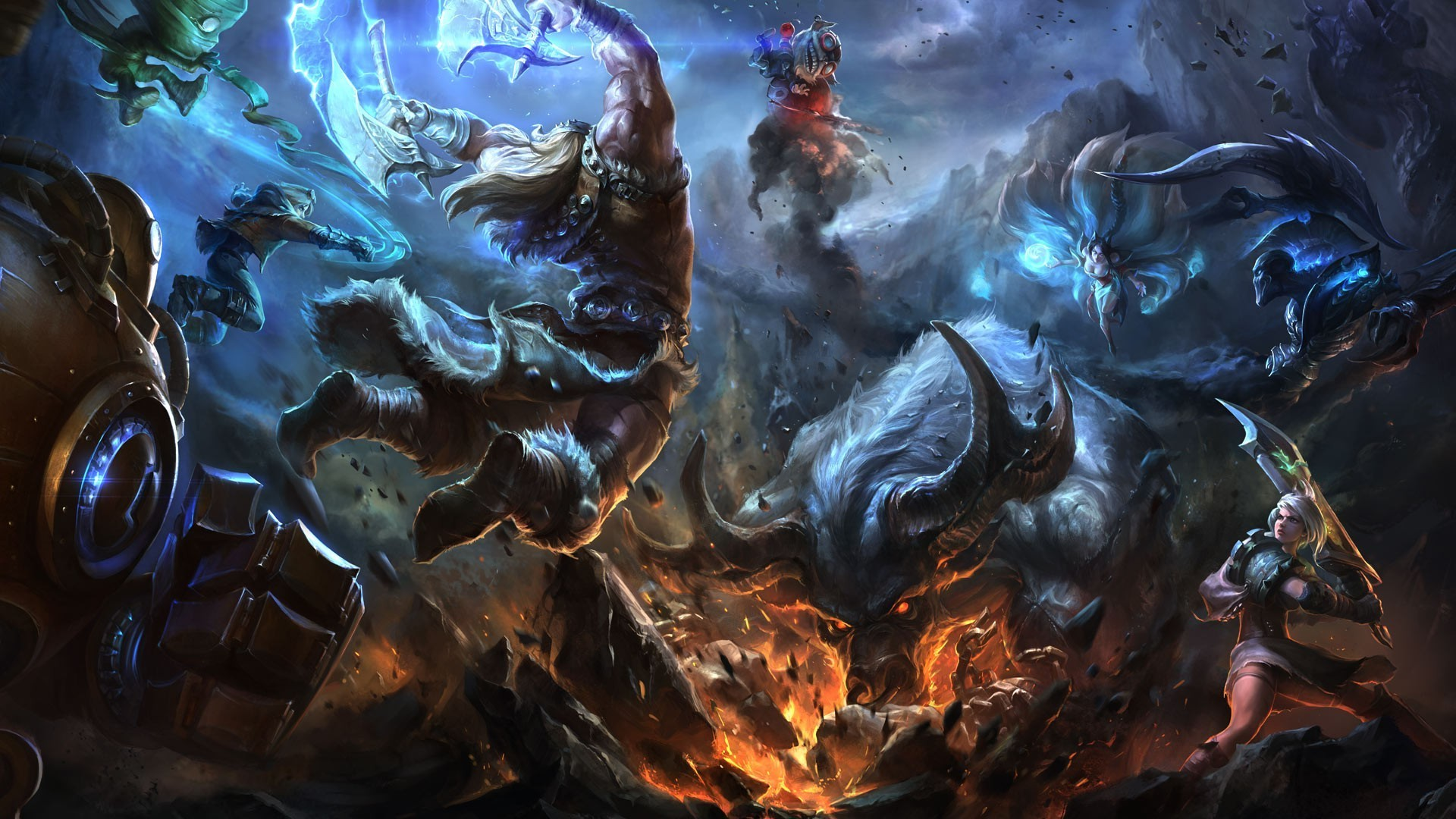 hd league of legends wallpapers