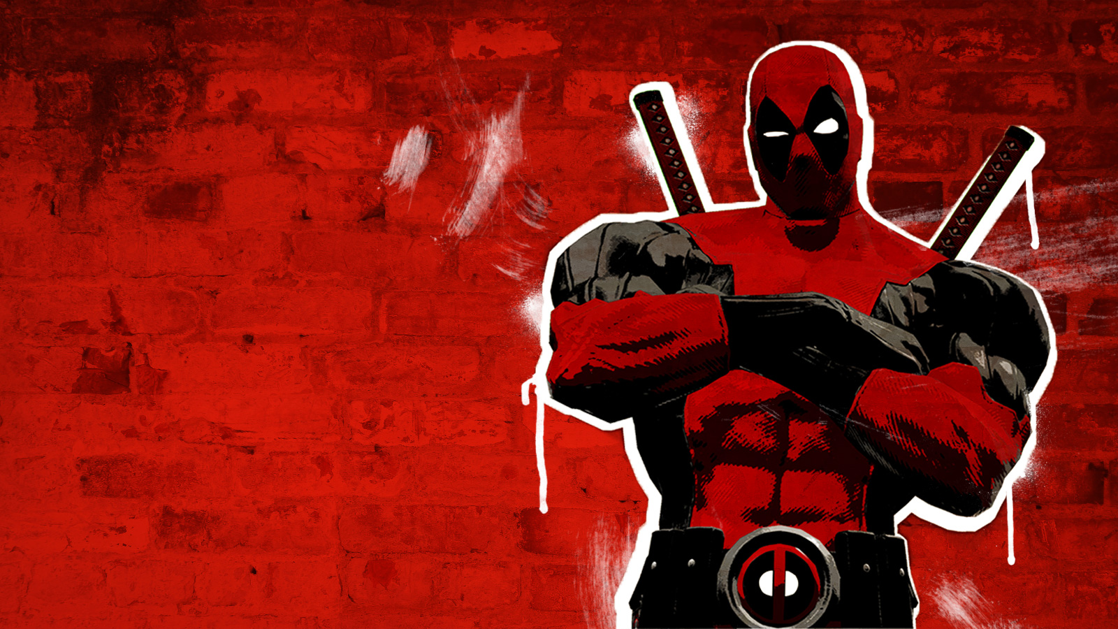 awesome deadpoo... Deadpool Wallpaper