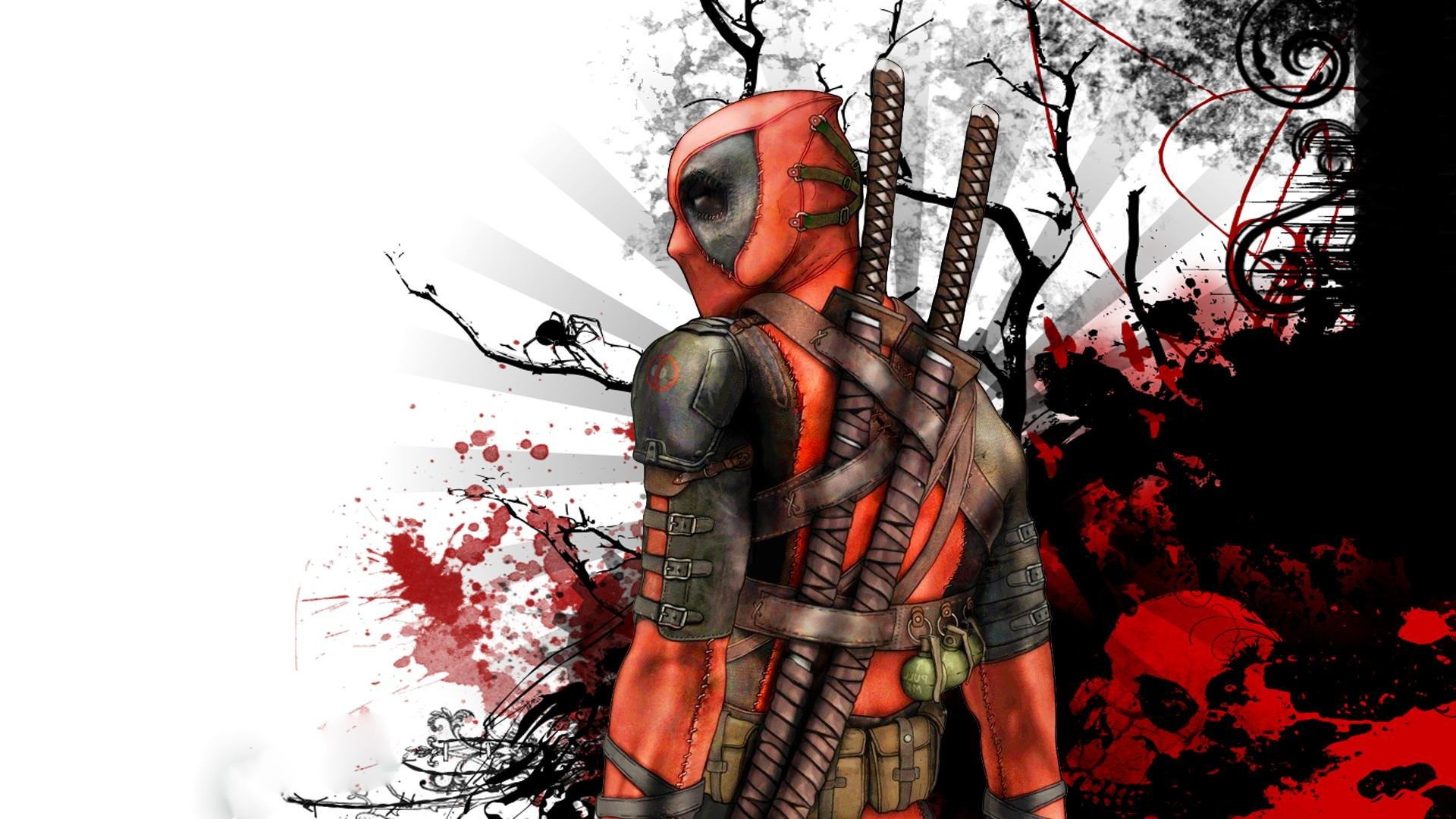 Free Deadpool W... Deadpool Wallpaper