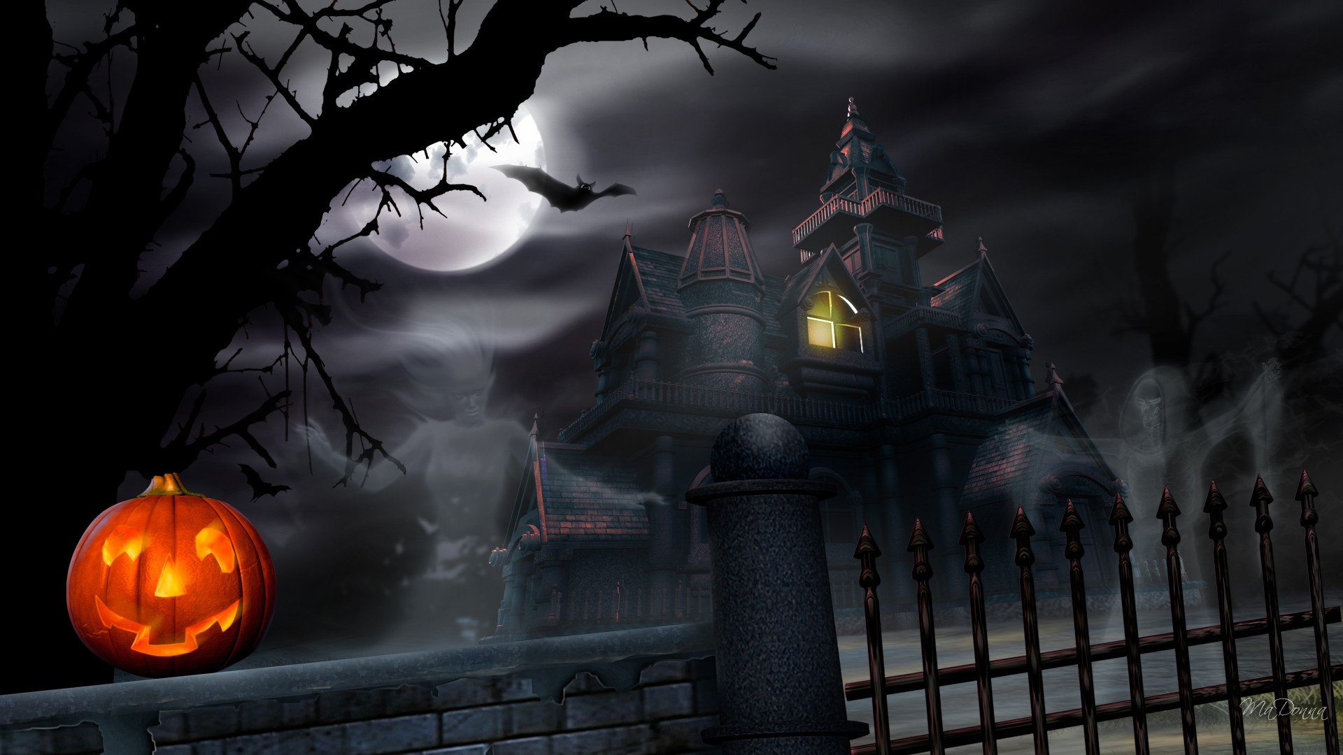 1920x1080 hd halloween wallpaper-#6