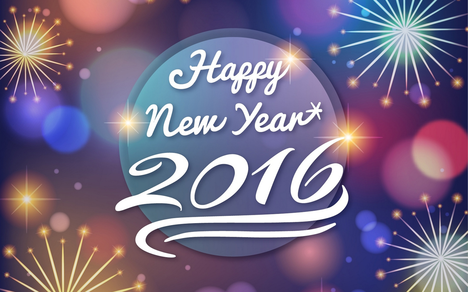 happy new year 2016 picture