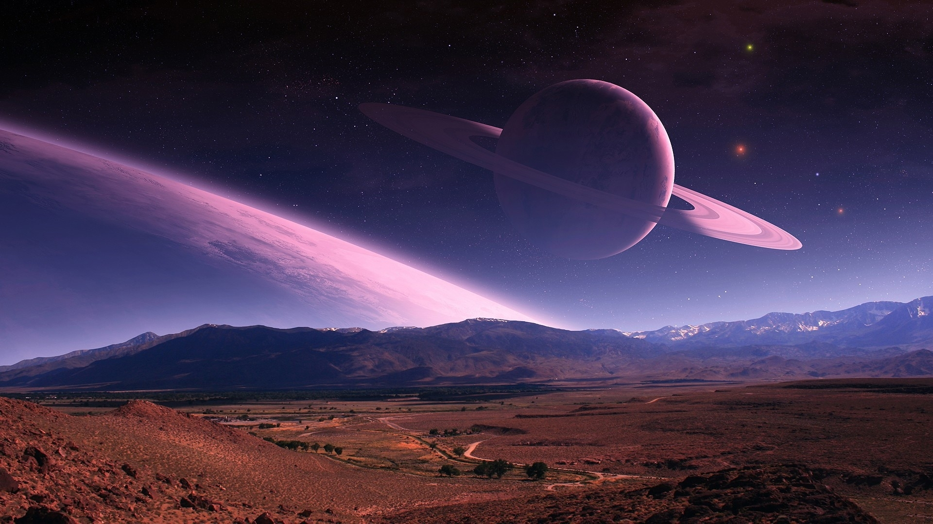 3d planets wallpaper hd - photo #43