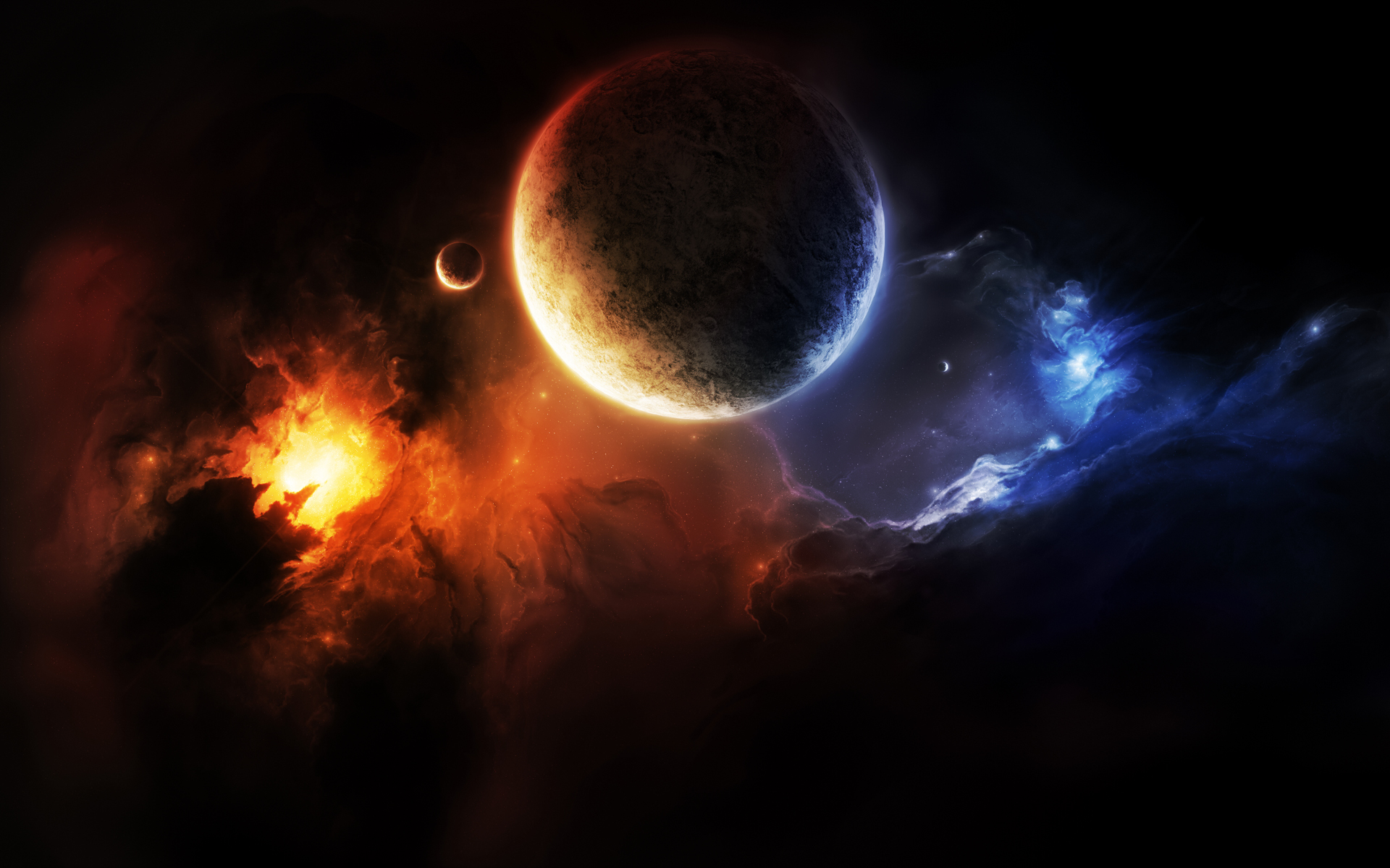 3d planets wallpaper hd - photo #38